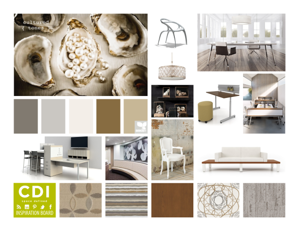 CDI Inspiration Board - Cultured Tones