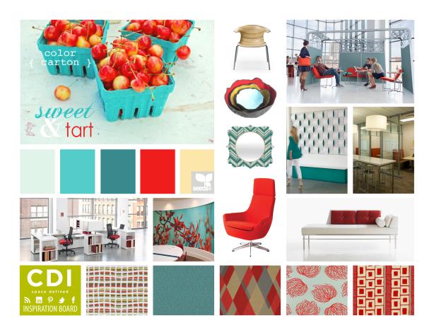 CDI Inspiration Board - Sweet & Tart