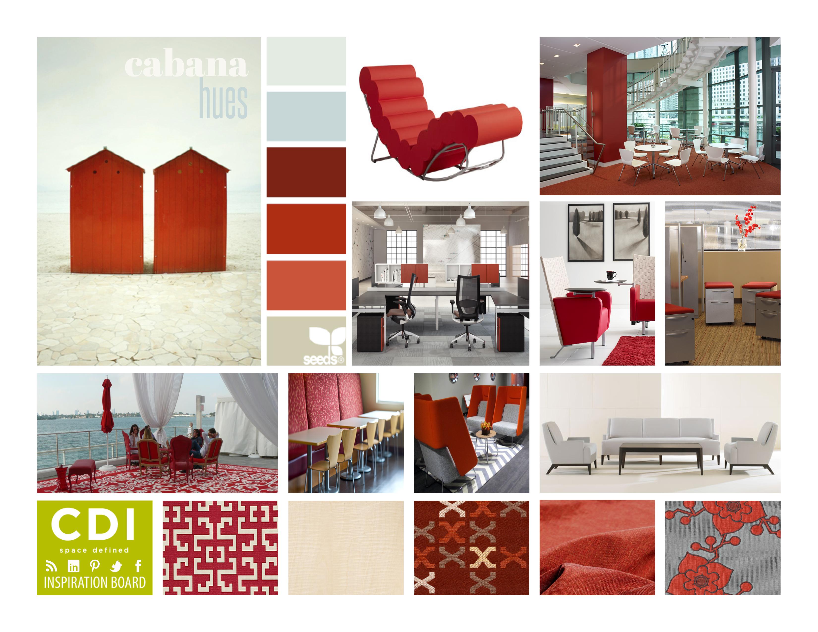 Inspiration board cabana hues corporate design interiors for Inspiration concept interior design llc