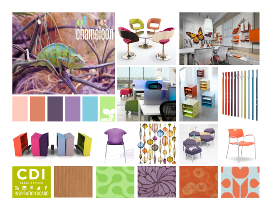 CDI Inspiration Board - Colored Chameleon
