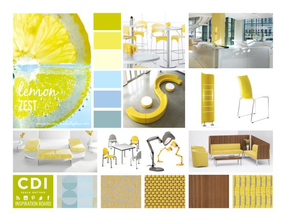CDI Inspiration Board - Lemon Zest