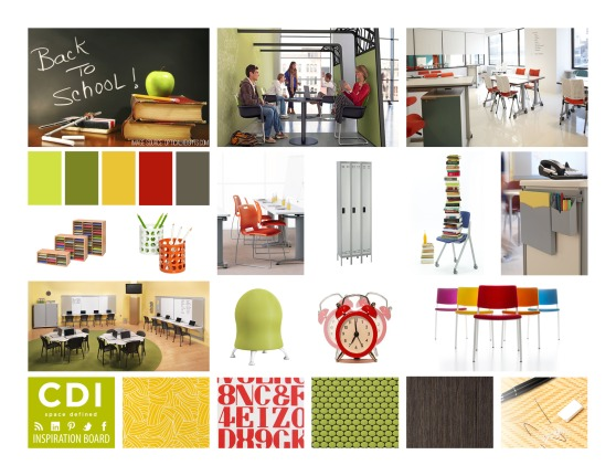 CDI Inspiration Board - Back to School