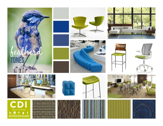 CDI Inspiration Board - Feathered Tones
