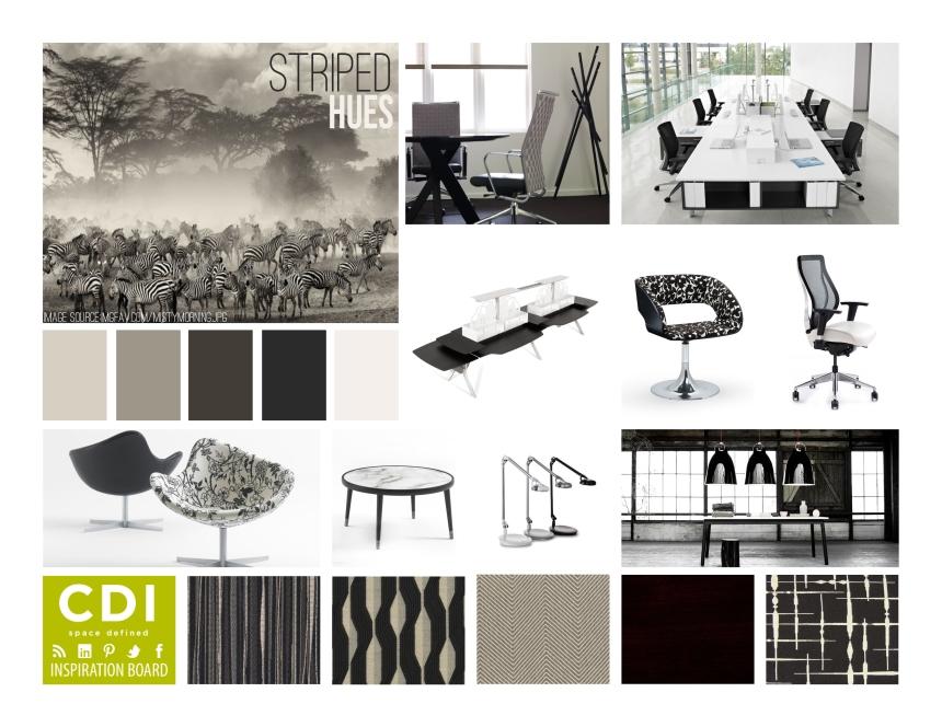 CDI Inspiration Board - Striped Hues