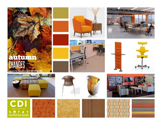 CDI Inspiration Board - Autumn Changes