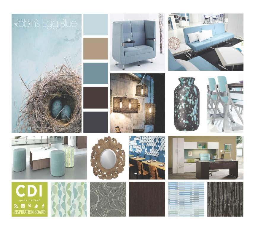 CDI Inspiration Board - Robin's Egg Blue