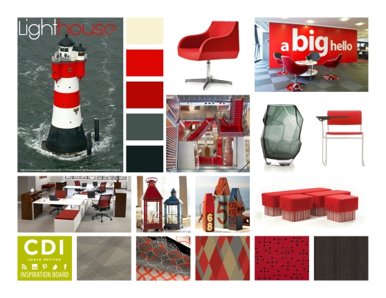 CDI Inspiration Board-Lighthouse