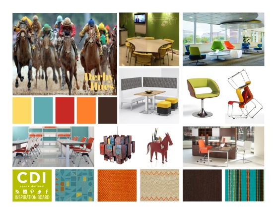 CDI Inspiration Board - Derby Hues