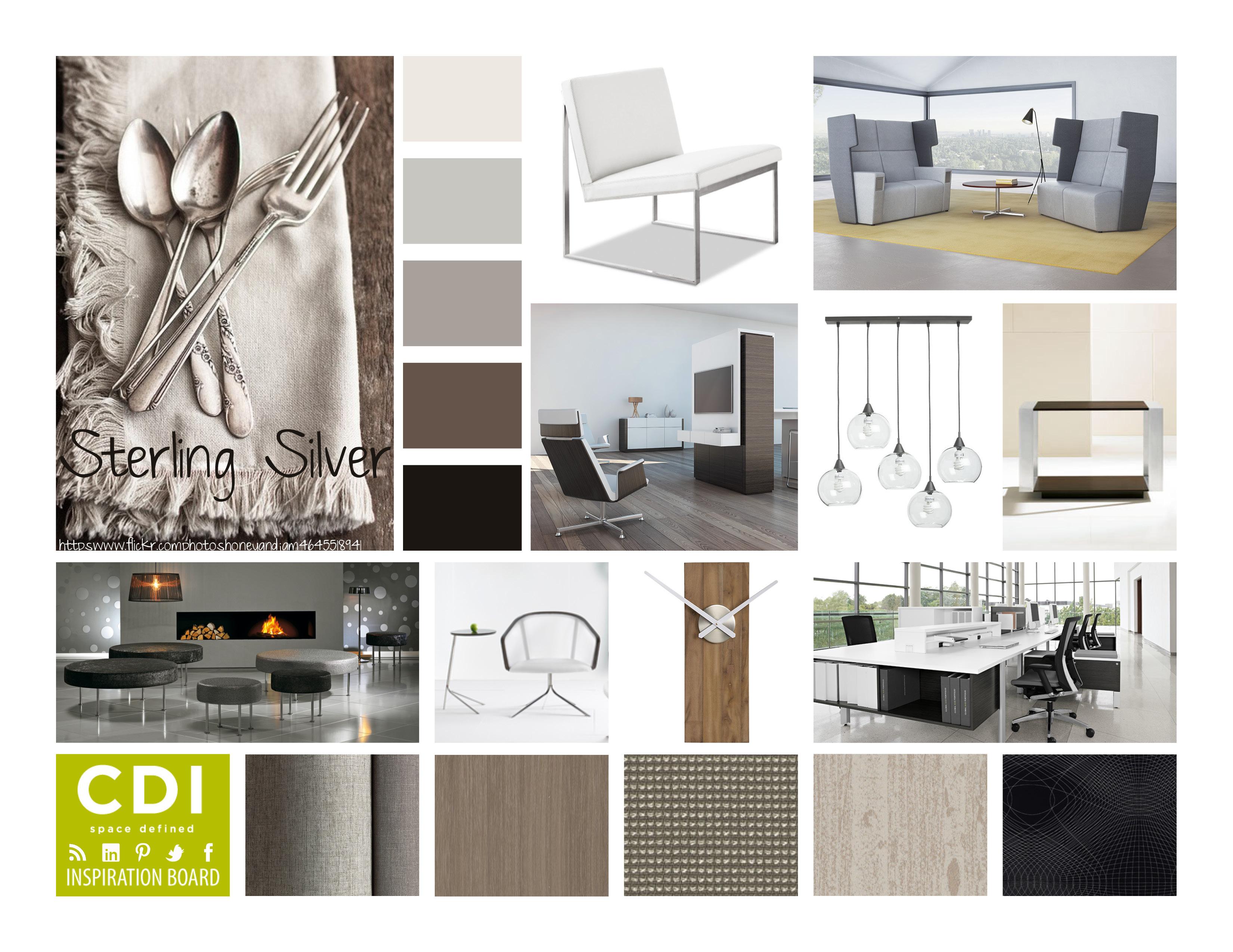 Inspiration boards corporate design interiors for Cdi interior design