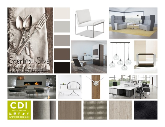 CDI Inspiration Board-Sterling Sliver