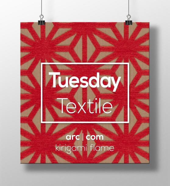 Tuesday-Textile-by-CDI-arc-com-kirigami