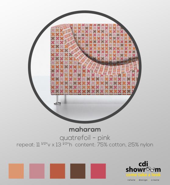 Tuesday-Textile-by-CDI-maharam-quatrefoil-info