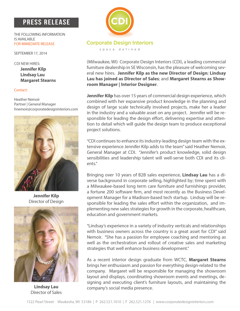 CDI New Hires_Kilp-Lau-Stearns