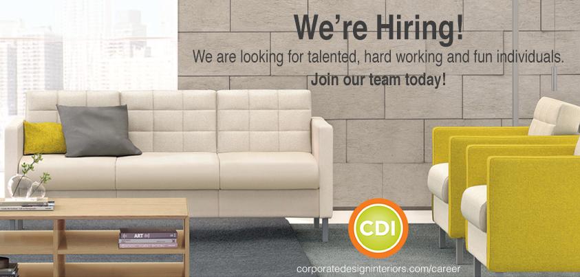 Senior account executive corporate design interiors for Cdi interior design