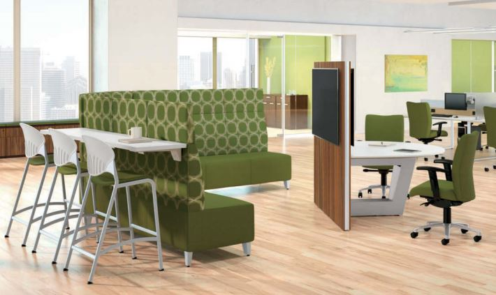 Mio Collaborative Table Corporate Design Interiors