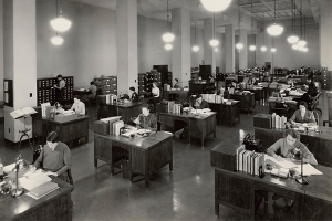U.S. National Archives and Records Administration Open-Office-Circa-1930