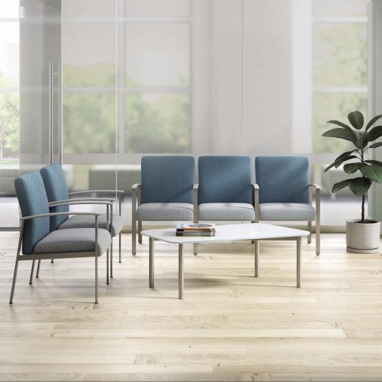 CDI Kimball Health Sycamore _ metal ganged seating 1