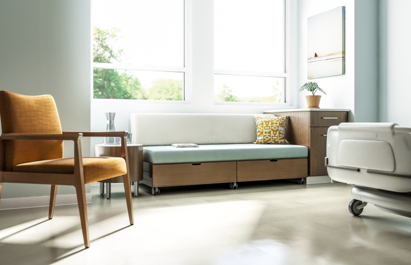 CDI features Kimball Health Villa Sleeper Sofa