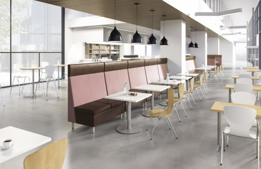 Cafe Banquette recolored