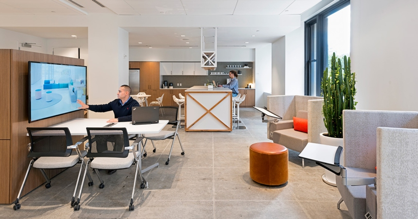 CDI 2017 Neocon Review Trends Balance Within Office Culture.