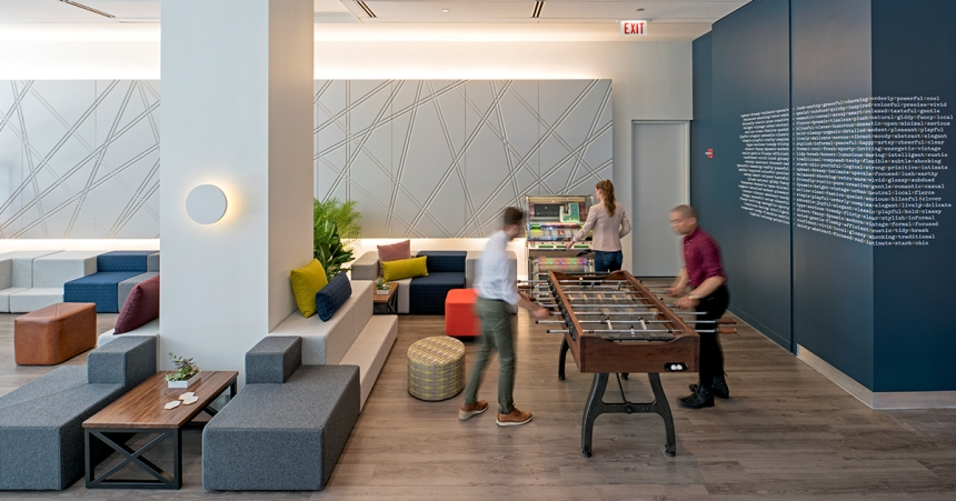 CDI 2017 Neocon Review Trends Multi-Generations in the Workplace. In creating an inclusive culture to meet the needs of each age group and thus encouraging engagement, collaboration, and learning, organizations can more effectively attract and retain employees of all generations.