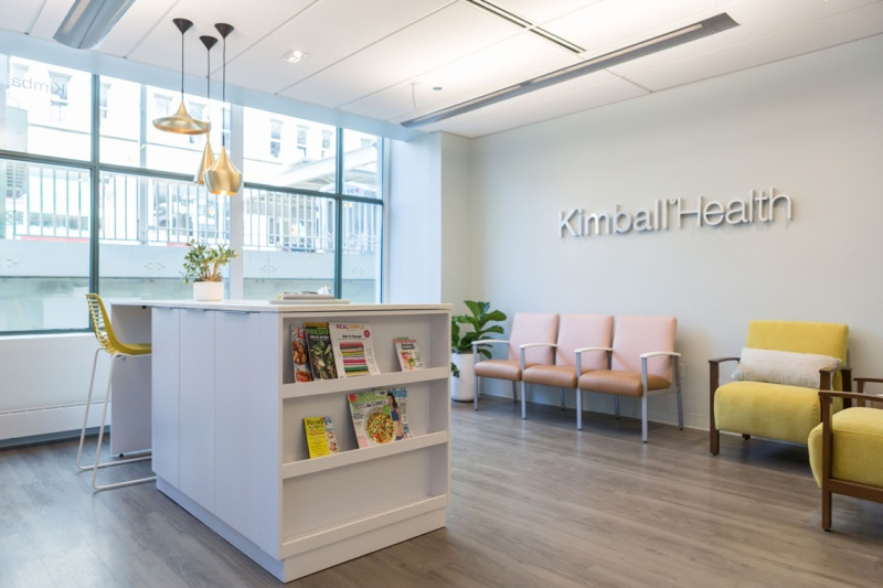 CDI features Kimball Health active waiting room