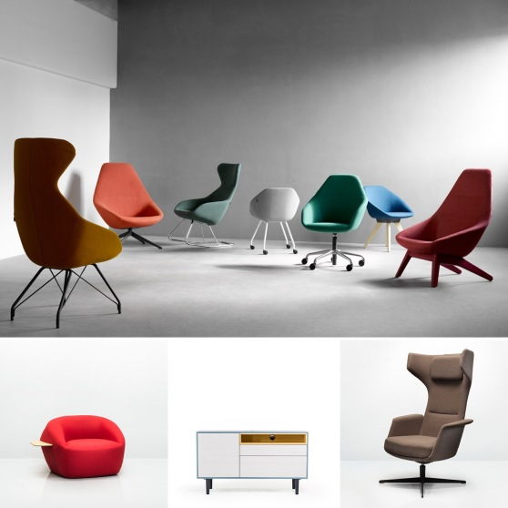 Allermuir New Product Review by CDI: Famiglia Soft Seating, Tarry Lounge Chair, Mote Credenza, Jinx Soft Seating