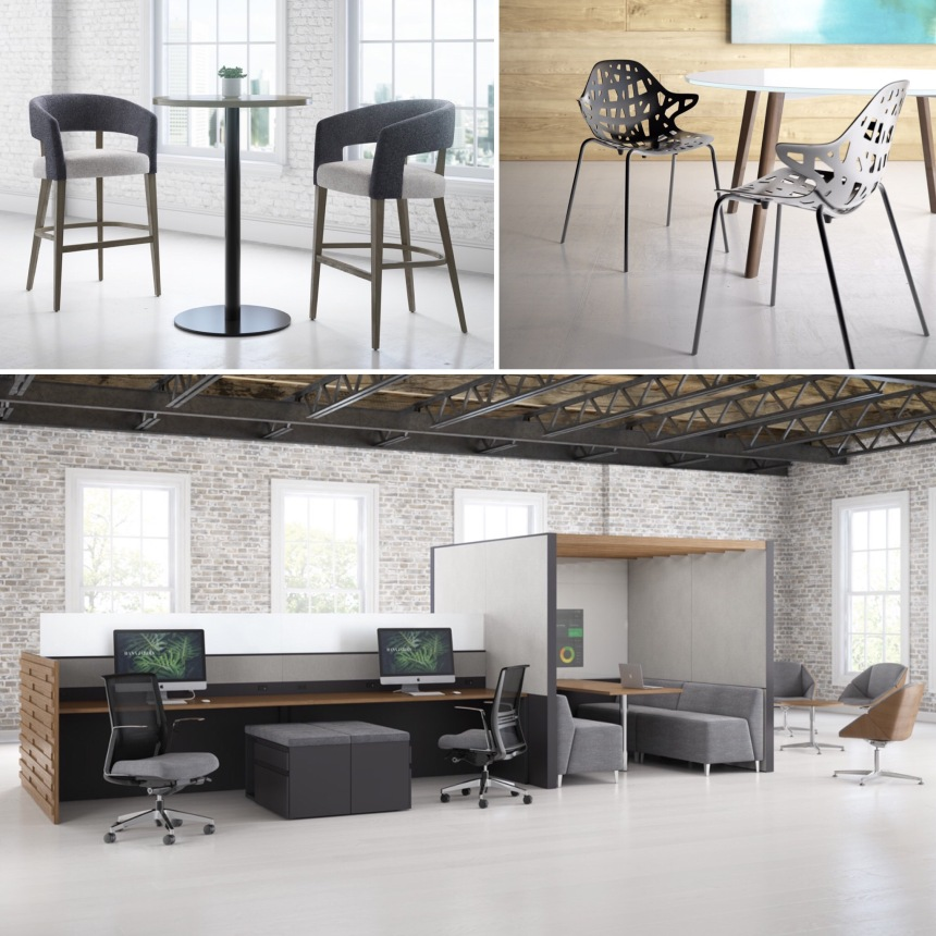 Kimball New Product Review by CDI: Nash Stool, Lusso Chair, Narrate/Theo Lounge Chair