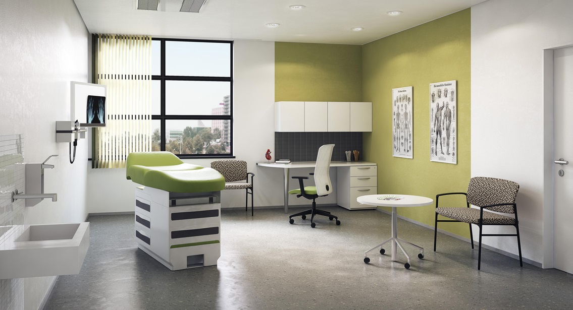 Medical Office Examination Room Design Ergonomic