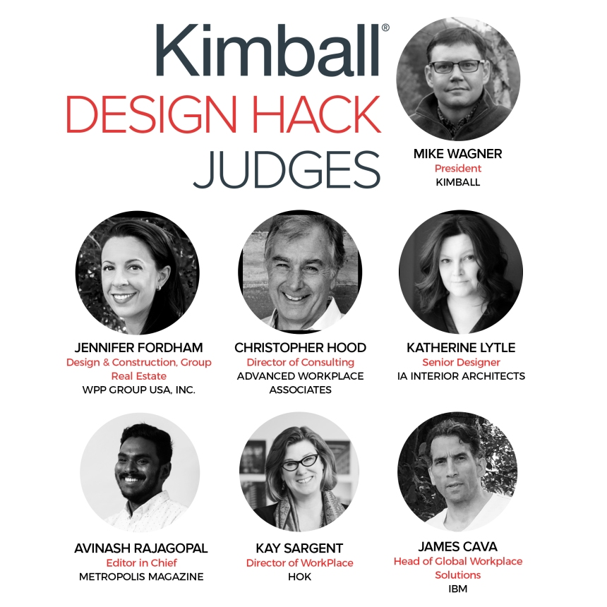 CDI's Kimball Design Hack Judging Panel